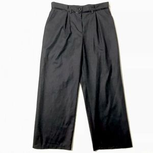 ARMANI COLLEZIONI Dress Pants Wide Leg Wool